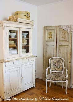 My little white home by Nadine: New old cabinet