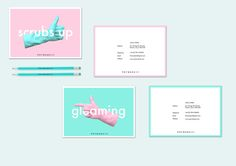 Pot Wash Josh Brand Identity © by Sam Sharples, via Behance