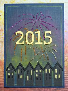 Card for January MMCC. Happy New Year!