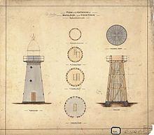 Archer Point Lighthouse, Queensland Far North, 1882