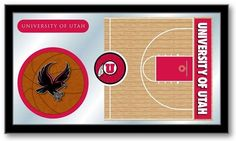 Utah Utes Basketball Team Sports Mirror - SportsFansPlus