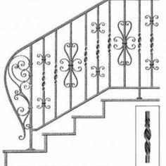 Elemente fier forjat pentru balustrade Balustrade Inox, Lorem Ipsum, Stairs, Staircases, Home Decor, Stairway, Decoration Home, Room Decor, Home Interior Design