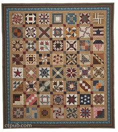 Barbara Brackman's Civil War Sampler: 50 Quilt Blocks with Stories from History by Barbara Brackman
