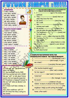 English Grammar Tenses, English Grammar For Kids, Basic Grammar, Teaching English Grammar, English Grammar Worksheets, English Writing Skills, Grammar And Vocabulary, Grammar Lessons, English Lessons