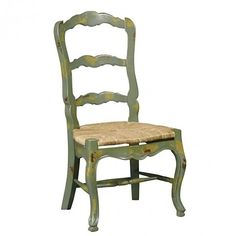 Green country chair