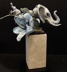 "Ted Gall, ""Elephant Run"""