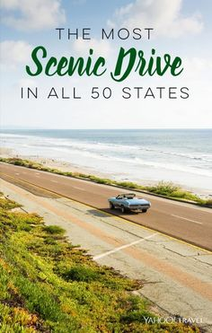 The definitive guide to the most scenic road in every one of our 50 states. Us Road Trip, Road Trip Hacks, Family Road Trips, Places To Travel, Travel Destinations, Places To Visit, Travel Stuff, Voyage Usa, Magic Places