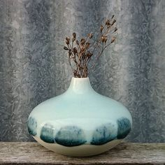 #ceramics #ceramic #keramik #pottery #clay #creative #porcelain #handmade #danishdesign #danskdesign #nordichome #scandinavianhome #homedeco #homedecor #interior #interiør #vase #glaze #blue #january #skovkeramik