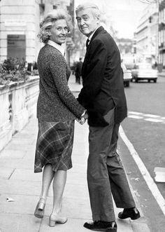 Jimmy Stewart and wife Gloria