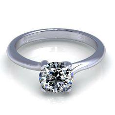 Aurella - White gold - 0.55CT round cut diamond solitaire ring., £1,120.00 (http://www.aurella.co/white-gold-0-55ct-round-cut-diamond-solitaire-ring-1/)