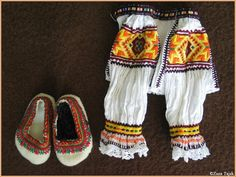FolkCostume&Embroidery: Costume of Čičmany and vicinity, Slovakia