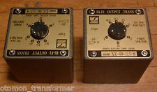Used Pair Hirata Tango transformer XE-60-3.5S for SE tube amp 300B, 2A3, PX25