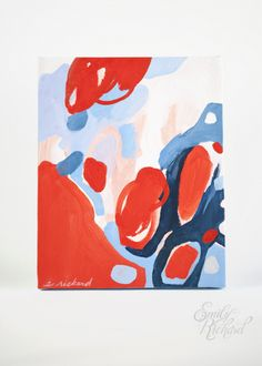 color study by Emily Rickard via @Etsy #art #painting