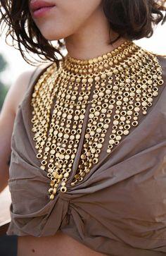 Amazing statement necklace #bijoux #bijouxcreateur #bijouxfantaisie #jewelry #bijoux2016