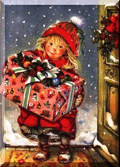 Noite de Natal,Cartão Postal, década de 20, século XX.