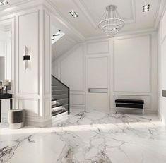 Enhance Your Senses With Luxury Home Decor Apartment Interior Design, Luxury Homes Interior, Luxury Home Decor, Home Room Design, Living Room Designs, Modern Classic Interior, Neoclassical Interior, Flur Design, Hallway Designs