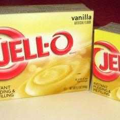 Easy instant vanilla pudding recipes