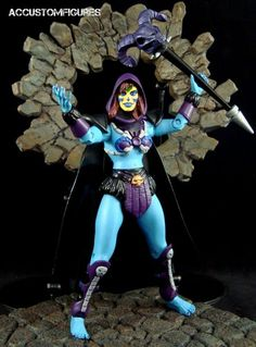 Skeletress (MOTUC Concept) (Masters of the Universe) Custom Action Figure