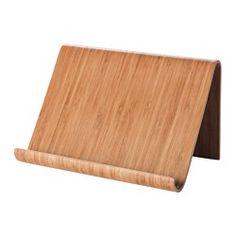 IKEA - RIMFORSA, Tablet-Halter, Der Tablet-Halter kann auf die Arbeitsplatte gestellt oder für mehr Arbeitsfläche beim Kochen an die Wand gehängt werden. Der Halter ist stabil genug für Bücher und Tablets und dank des robusten Materials für tägliche Benutzung geeignet.
