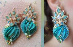 Designed by Serena Di Mercione Soutache, shibori silk, swarovski