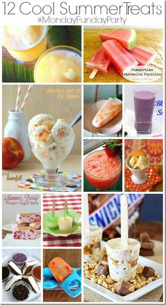 12-cool-summer-treats-thatswhatchesaid  #summertreats  #smoothies