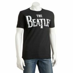 The Beatles Vintage Logo Tee - Men