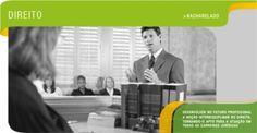 Direito - Desenvolver no futuro profissional a noção interdisciplinar do direito, tornando-o apto para atuar em todas as carreiras jurídicas.