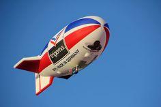 Fondo de Pantalla de Dirigible, Zeppelin, Globo, Aire, Volar, Aeronave