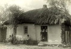 Photo by Fofka Fofka Wattle And Daub, Barack Obama Family, A Wrinkle In Time, Small Cottages, Ukrainian Art, House Landscape, Russian Art, Photo Archive, World Cultures