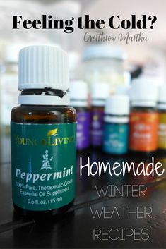 Warming Essential Oils To Help When You're Feeling The Cold