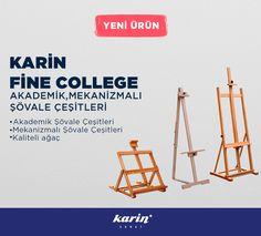 Yeni Ürünler: Karin Fine College http://bit.ly/2ih9S79  #KarinSanatMalzemeleri #Şövale #FineCollege #Ressam #ResimMalzemeleri #art #Sanat