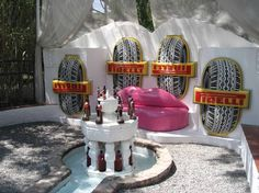Swimming pool at Salvador Dali's home - Port Ligat, Spain