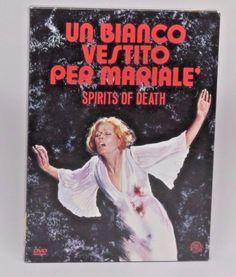 SPIRITS OF DEATH Un Bianco Vestito Per Mariale CAMERA OBSCURA R2 dvd #11 Giallo