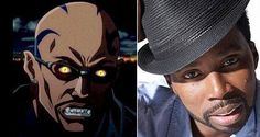 Blade (animated), voiced by Harold Perrineau who has also played Michael Lawson in Lost. http://www.imdb.com/name/nm0674782/