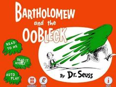 Seuss Books Bartholomew and the Oobleck 1949 Dr. Seuss Bartholomew and the Oobleck Hardcover Book from 920 x 920 · 1109 kB · png Dr. Seuss Bartholomew and the Oobleck below is the. Kindergarten Science, Teaching Science, Science Activities, Teaching Reading, Science Videos, Steam Activities, Dr Seuss Week, Dr Suess, Science Classroom