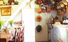 Old English Cottage Interiors | Trevor Pickett has furnished the kitchen of his Suffolk cottage with ...