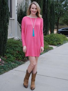 Perfectly Piko Tunic/Dress - 3 Colors