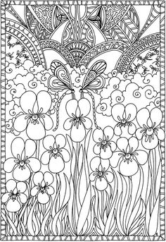Creative Haven Entangled Dragonflies Coloring Book Creative