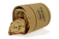 Bantu Bread Package Design & Branding by Kelsey Farnham, via Behance
