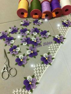 Image gallery – Page 450782243947916169 – Artofit Rose Embroidery, Embroidery Patches, Embroidery Patterns, Knitting Patterns, Crochet Patterns, Needle Tatting, Tatting Lace, Diy Broderie, Brick Stitch Earrings