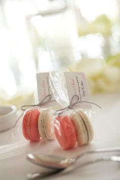 My tasty wedding favours
