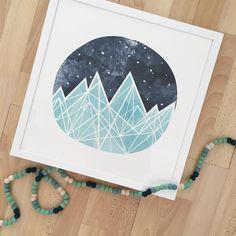 Mountain art for nursery                                                                                                                                                                                 More