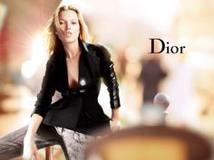 Kate Moss in Christian Dior Ad Campaign 2006, photographed by Nick Knight, creatively directed by John Galliano.