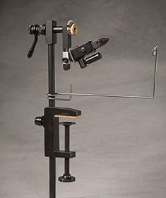Griffin Odyssey Spider Cam - Fly Tying Vise The 360 degree rotary vice allows you to maneuver the fly without taking it out of the vise.