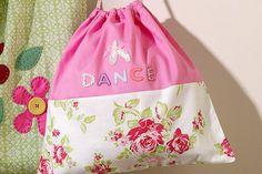 How to Make a Drawstring Bag #kids #sewing #bag