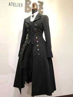 steampunk longcoat