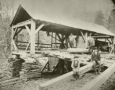 This 1800s sawmill could be the one near Piney Hill.