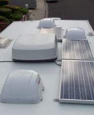 RV solar panel kit is an electrical system that uses light from the sun to charge your RV batteries that is capable of running the interior lighting and other RV appliances. And the nicest thing about having solar power in your RV is it frees you up to go almost anywhere secure in the knowledge that you have a source of power for your RV or camper.