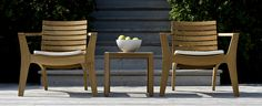 #outdoorfurniture #skagerak Functional and comfortable outdoor furniture.