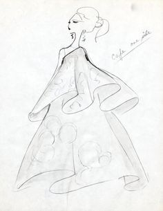 Hand sketch by Oscar, 1967 #tbt